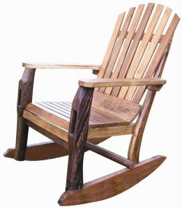 Adirondack Teak Rocking Chair GroovyStuff