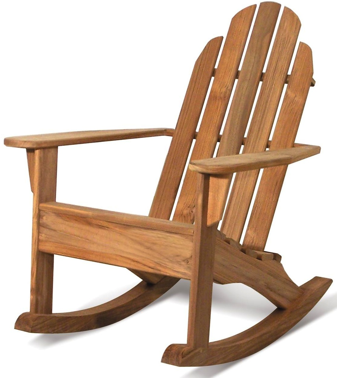 Teak Adirondack Rocking Chairs