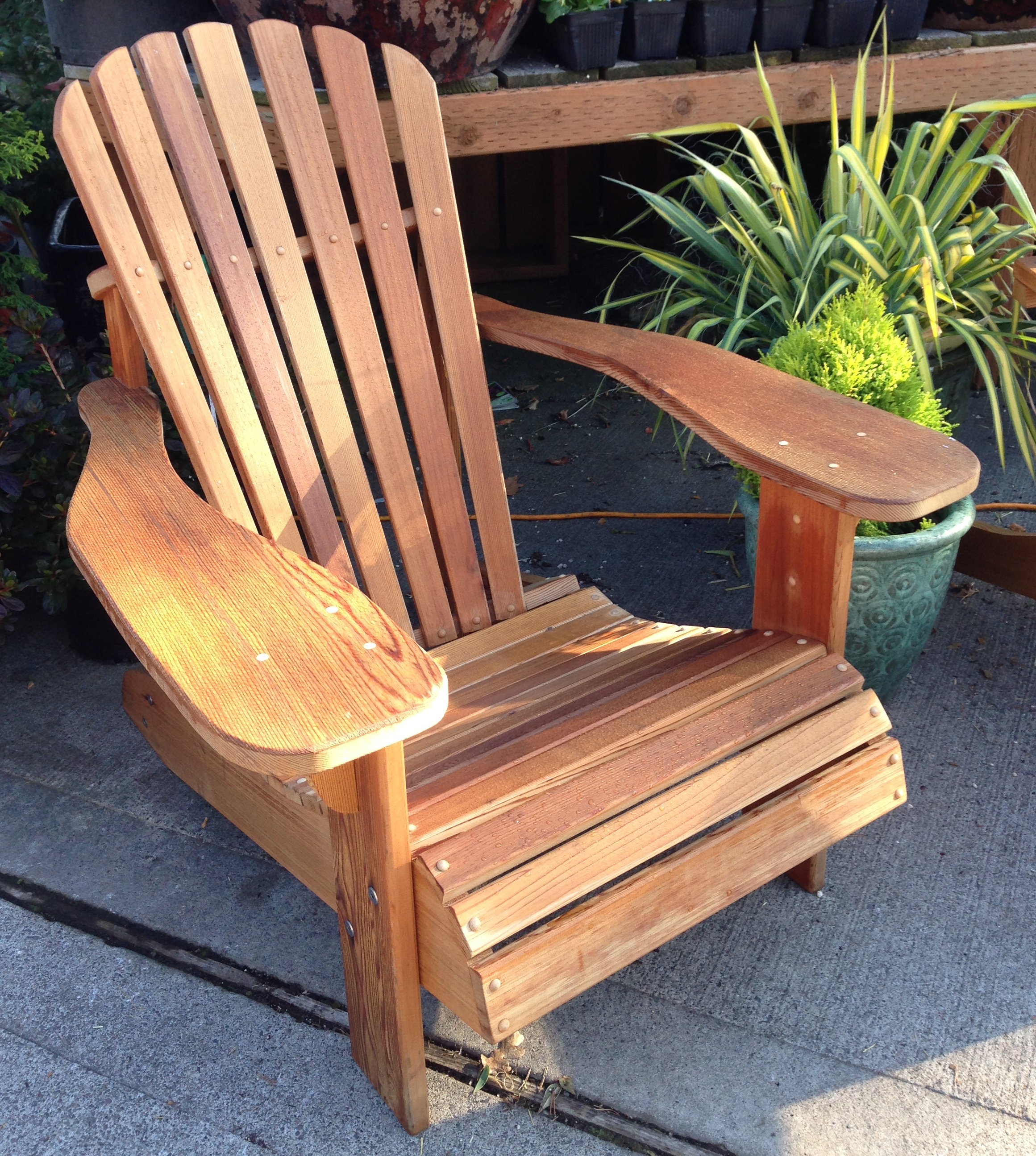 How to care for teak adirondack chairs