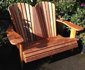 double-teak-adirondack-chair